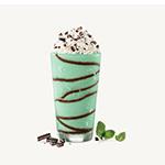 Mint Chocolate Swirl Shake