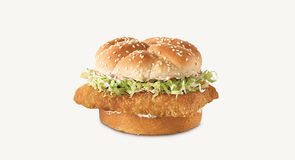 Crispy fish sandwich arby 39 s for Arby s fish sandwich