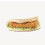 Crispy Fish Flatbread